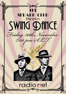 Radio Riel Swing Dance at The Seraph Club