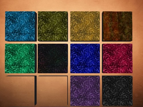 The Acid Burnt Chiffon Velvets (plus one fractal)