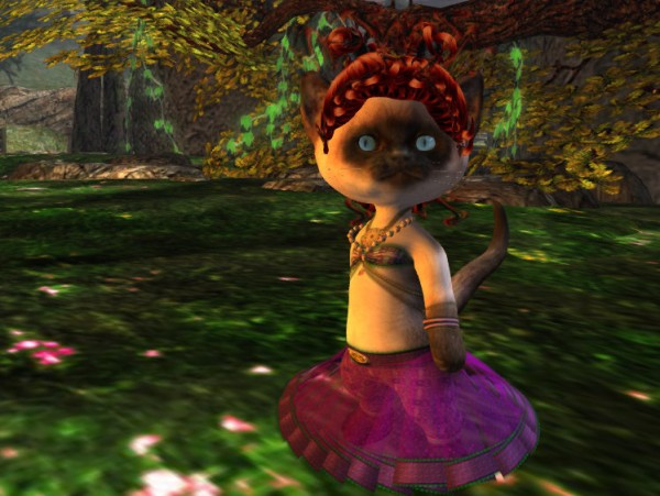 My new Dinkies Siamese Kitty mesh avatar ROCKS!
