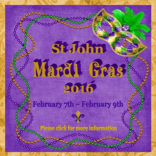 MardiGras 2016 StJohn Poster FRAMED FINAL